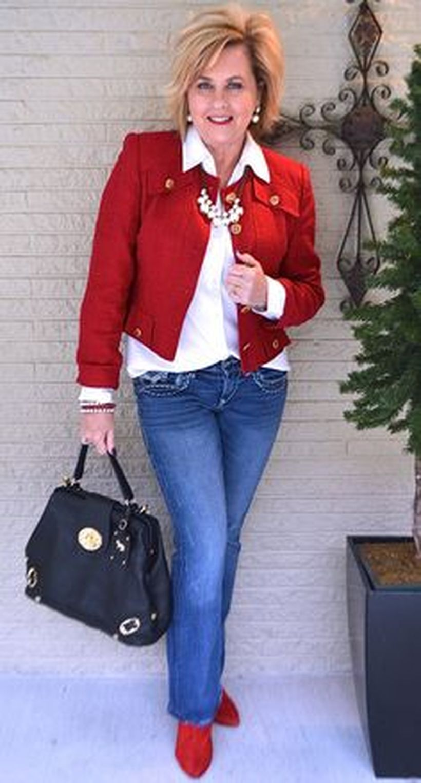 Fashionable over 50 fall outfits ideas 90 - Fashion Best