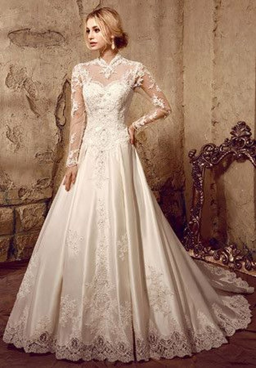 Gorgeous classy elegant wedding dresses inspirations 107 - Fashion Best