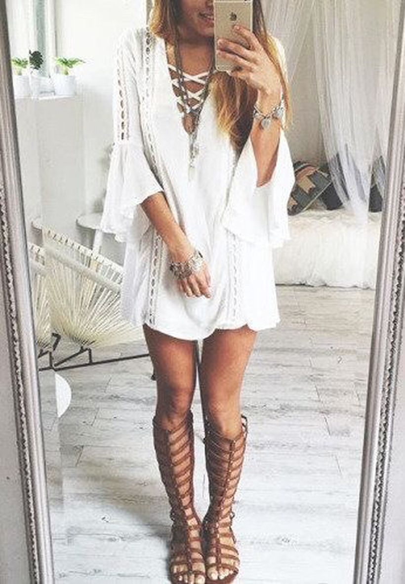 Stylish bohemian boho chic outfits style ideas 1 - Fashion Best