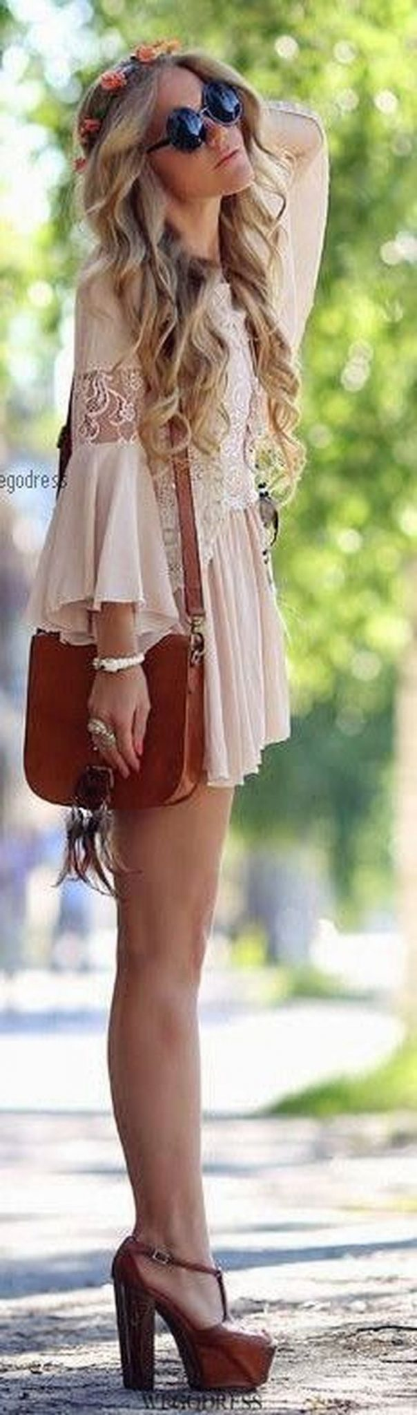 Stylish bohemian boho chic outfits style ideas 105 - Fashion Best