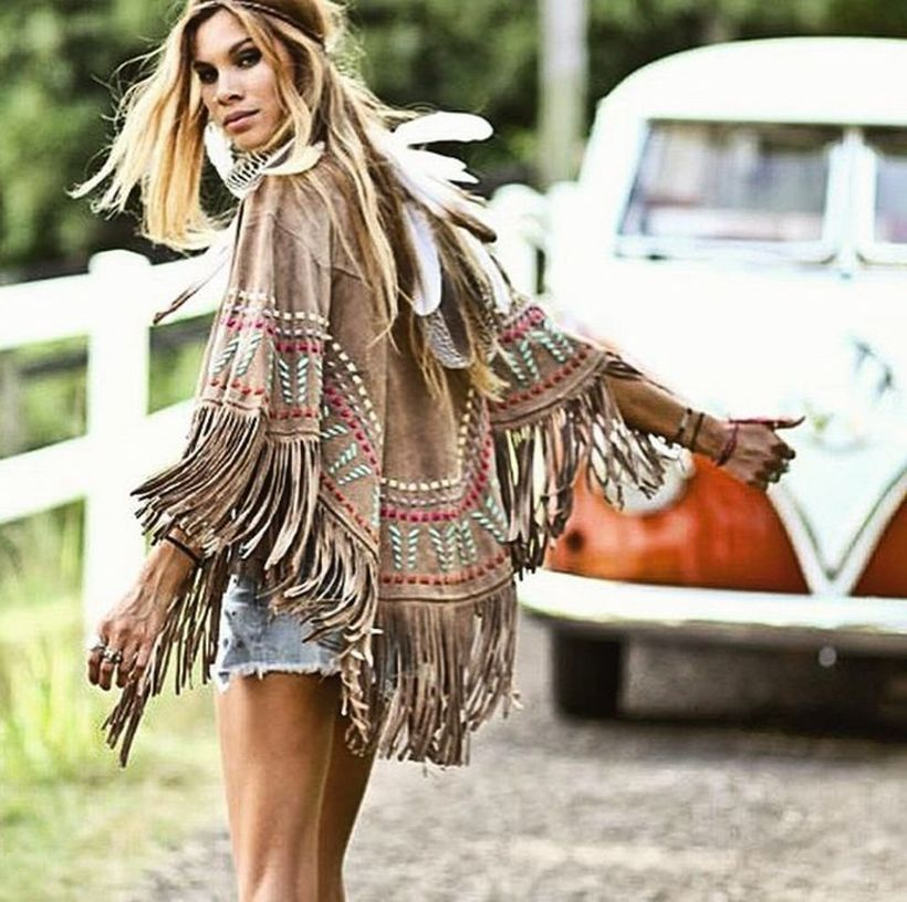 Stylish bohemian boho chic outfits style ideas 31 - Fashion Best