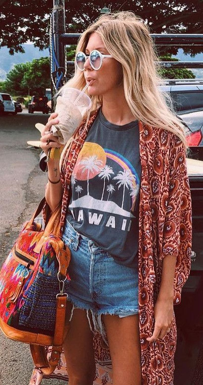 how to get boho rock chic