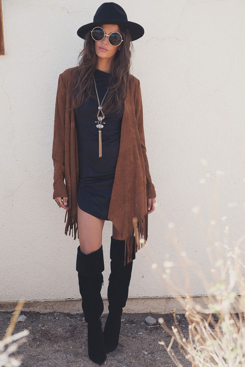 Stylish bohemian boho chic outfits style ideas 75 - Fashion Best