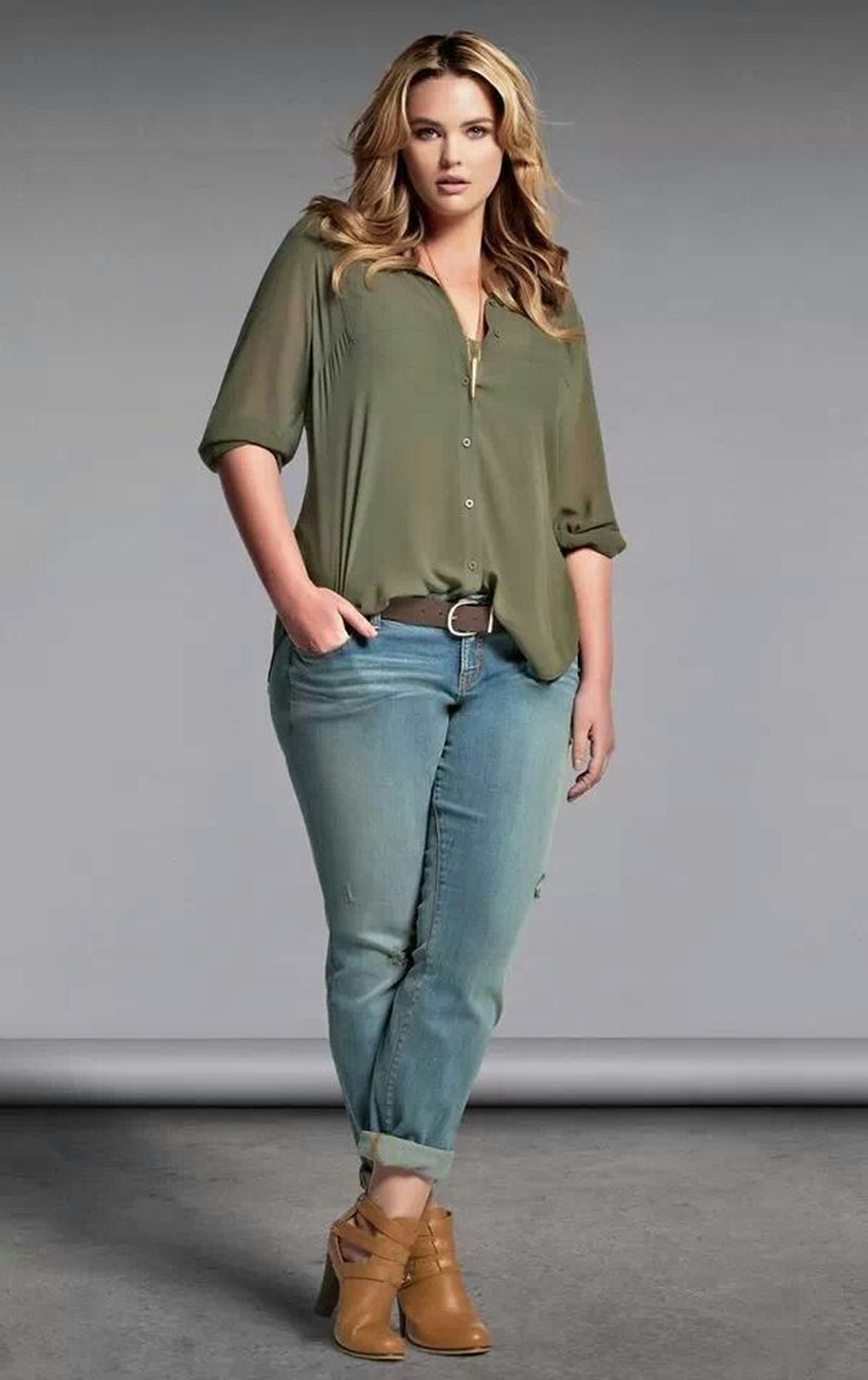 Great fashion tips for plus size women 45