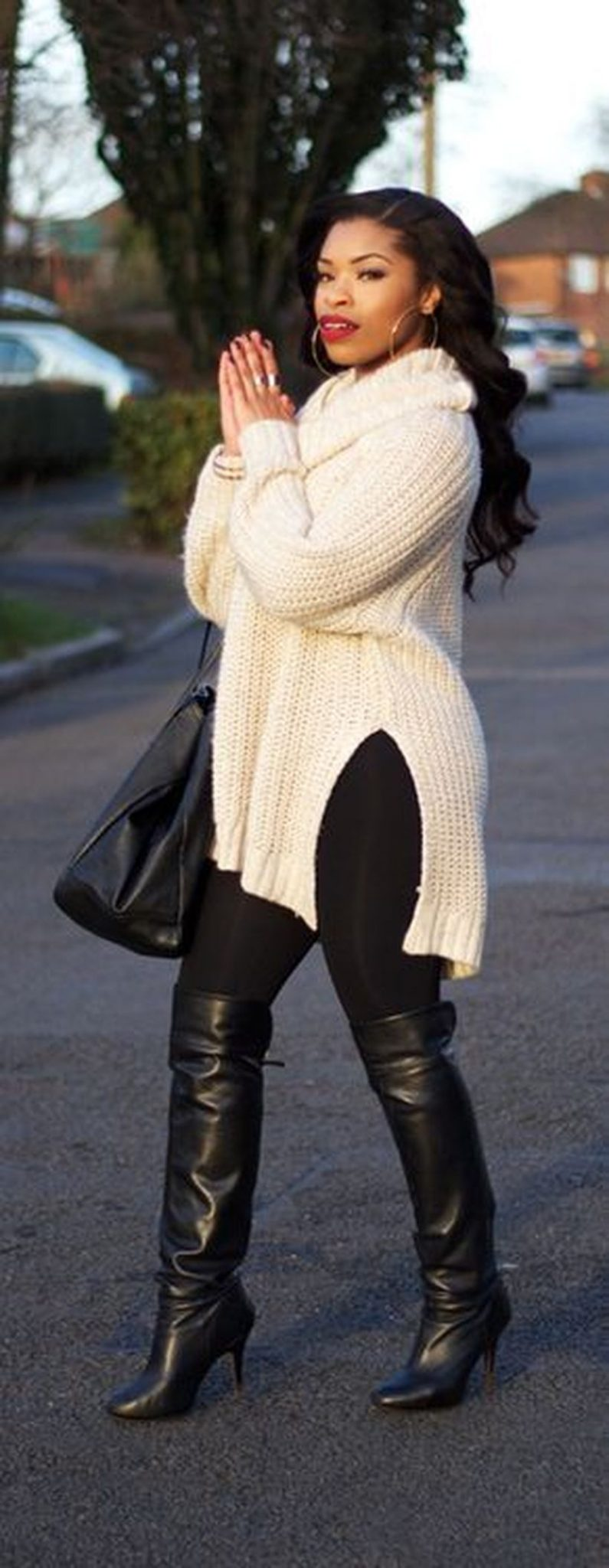 Stylish plus size outfits for winter 2017 60 - Fashion Best