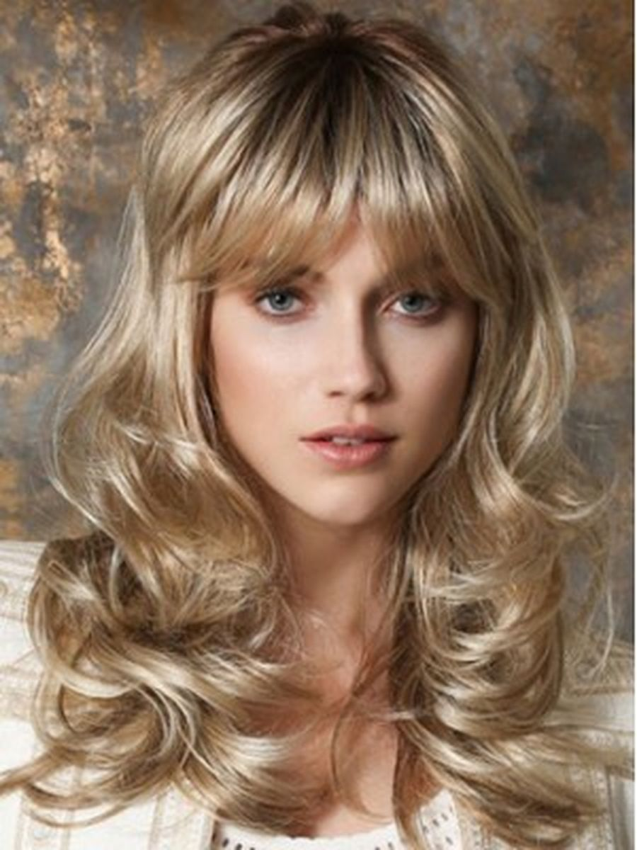 Cool hair style with feathered bangs ideas 24 - Fashion Best