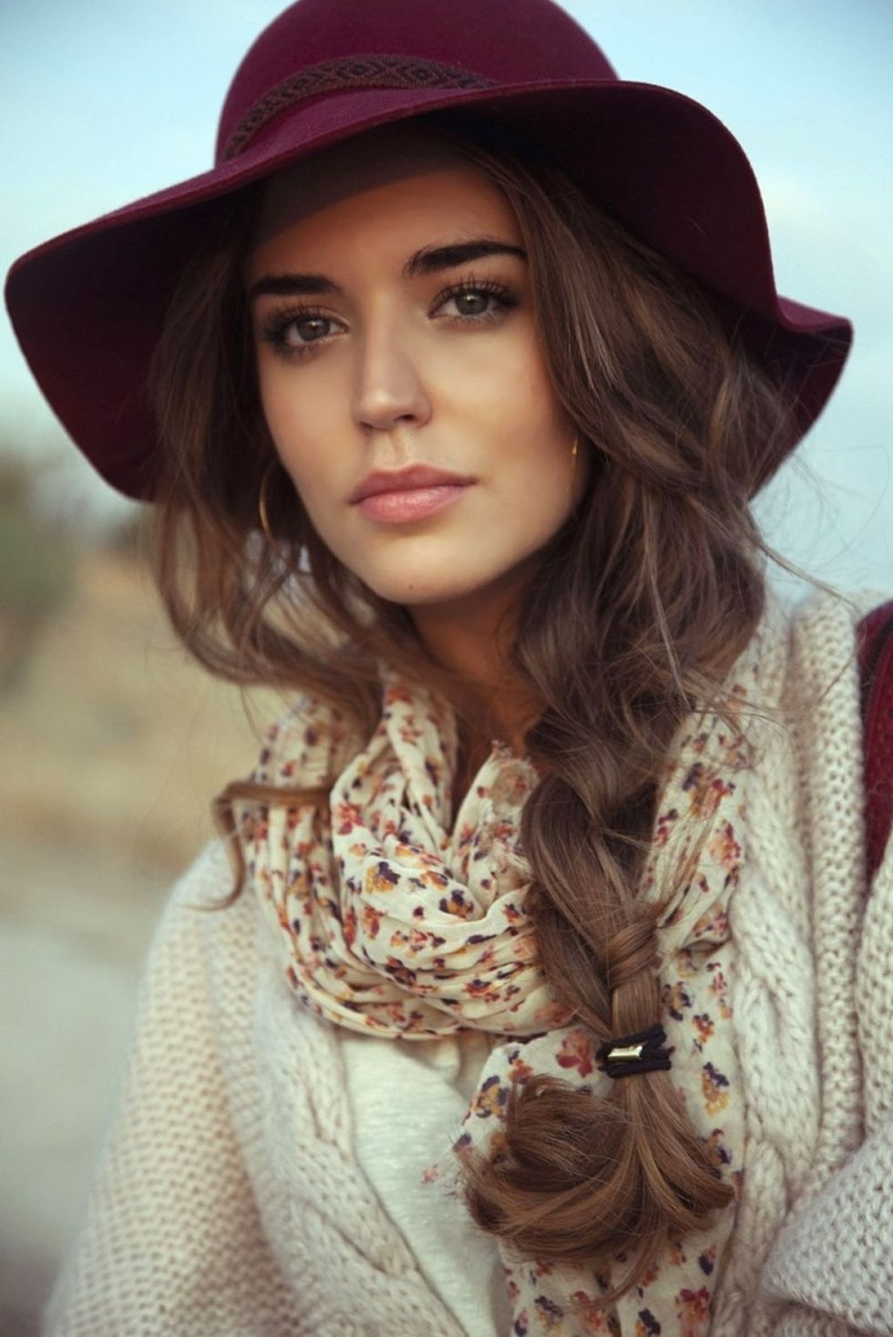 Fashionable Women Hats For Winter And Snow Outfits 46 -9676