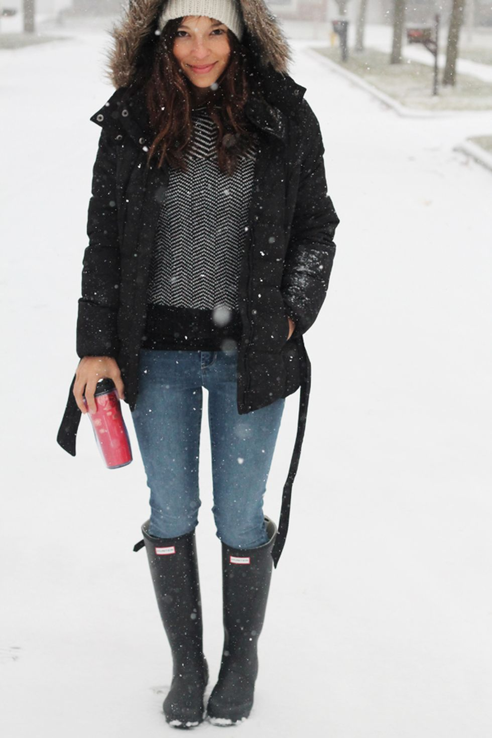 fashionable women snow outfits for this winter 35