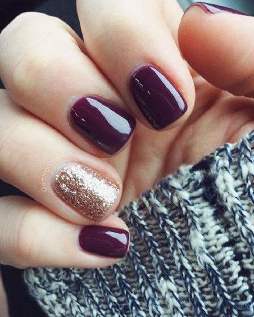 Pretty winter nails art design inspirations 50 - Fashion Best