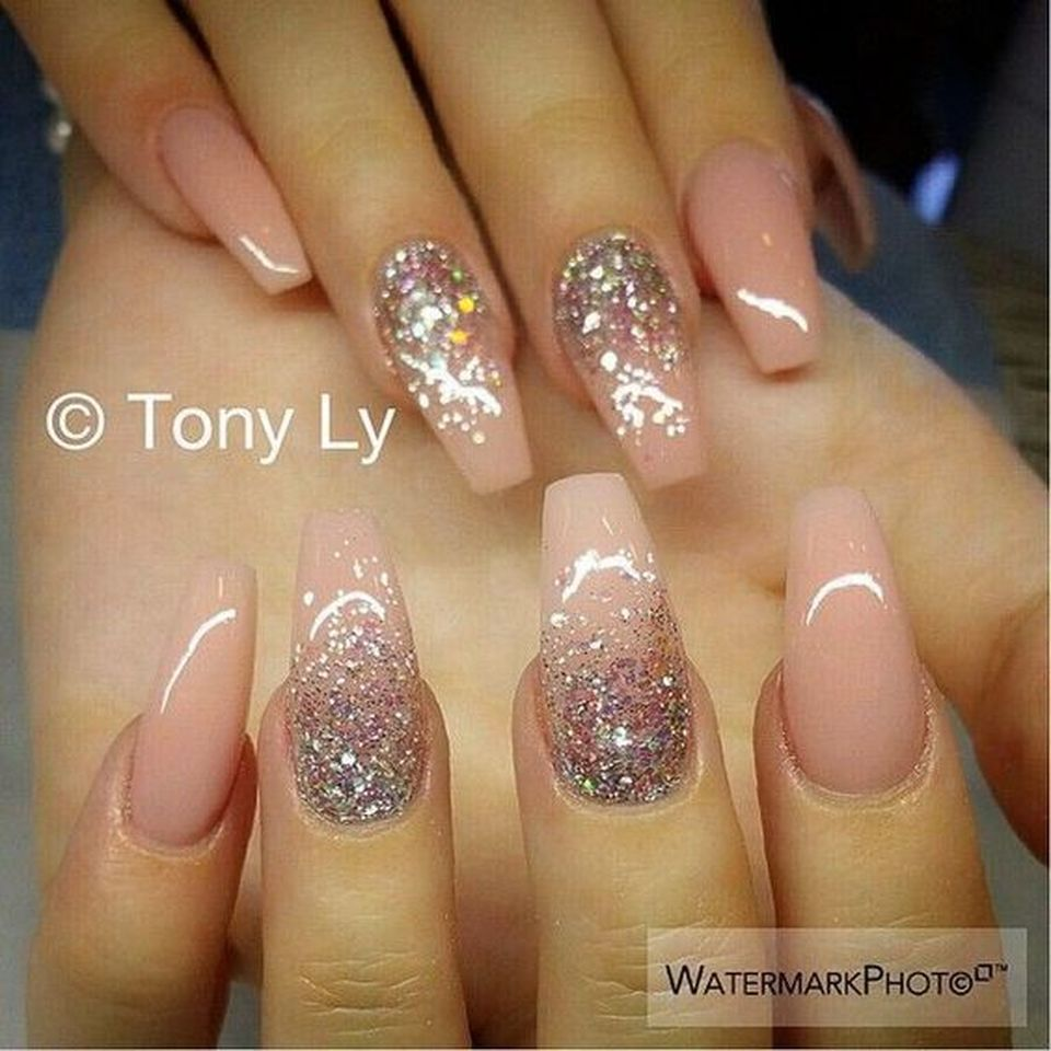 Sweet Acrylic Nails Ideas For Winter 115 Fashion Best