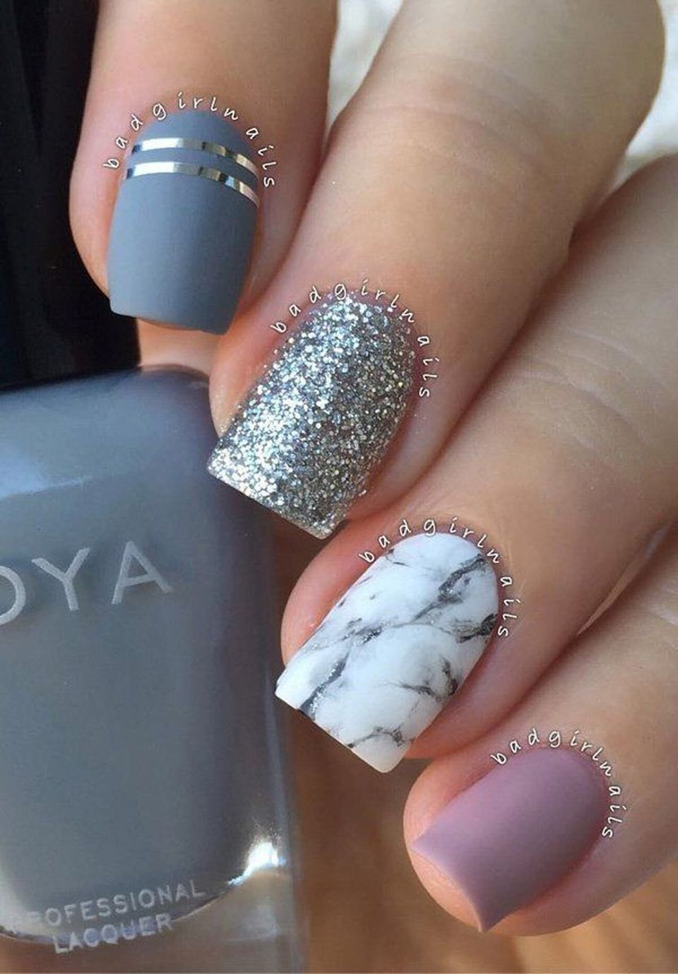 Sweet Acrylic Nails Ideas For Winter 116 Fashion Best