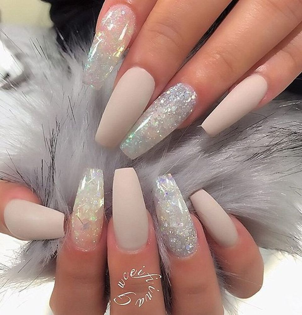 sweet acrylic nails ideas for winter 23 - fashion best