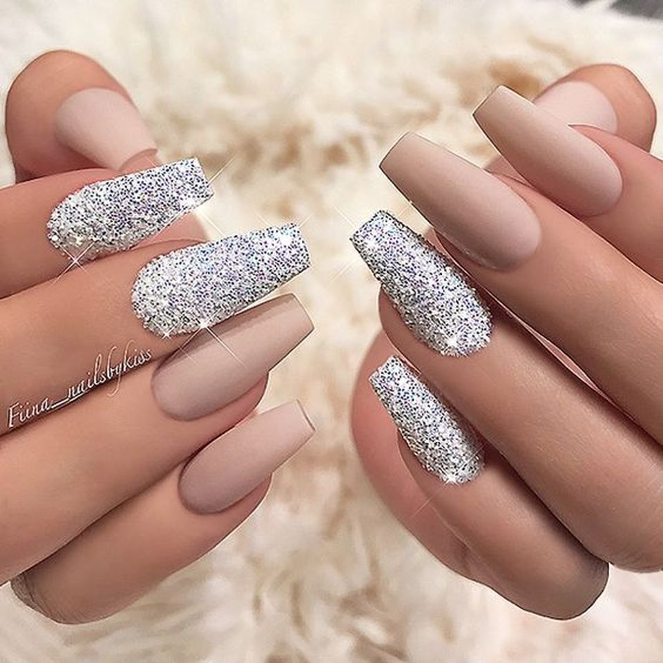 Sweet acrylic nails ideas for winter 34 - Fashion Best