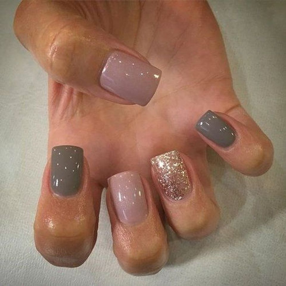 Sweet acrylic nails ideas for winter 4 - Fashion Best