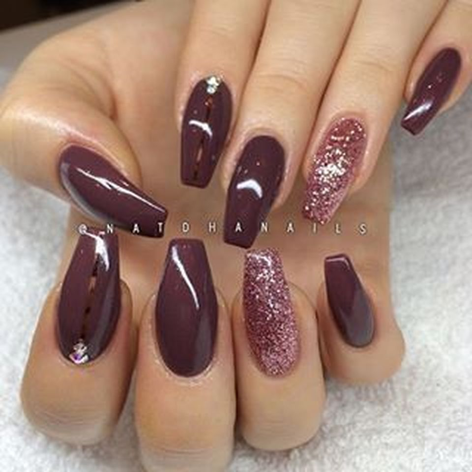 Sweet acrylic nails ideas for winter 59 - Fashion Best