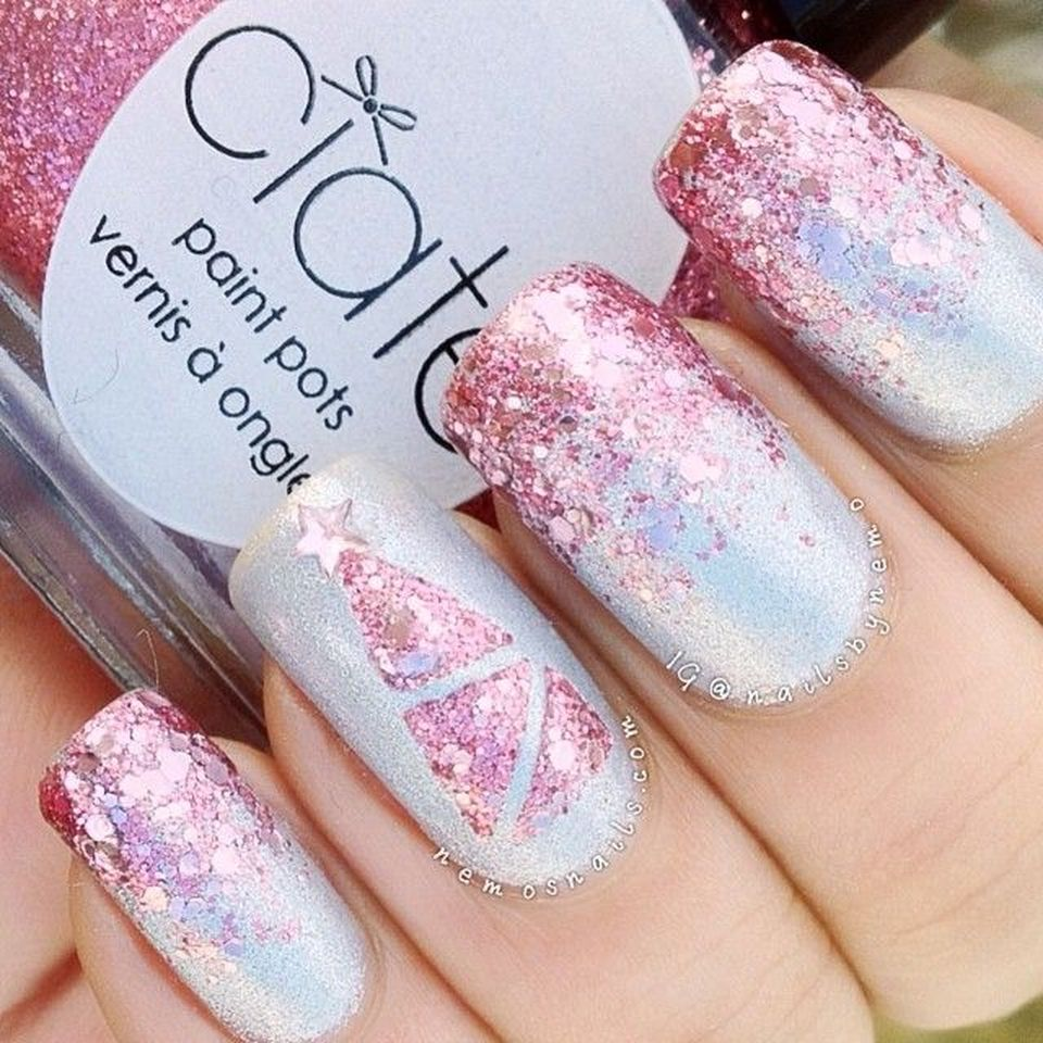 Sweet acrylic nails ideas for winter 74 - Fashion Best