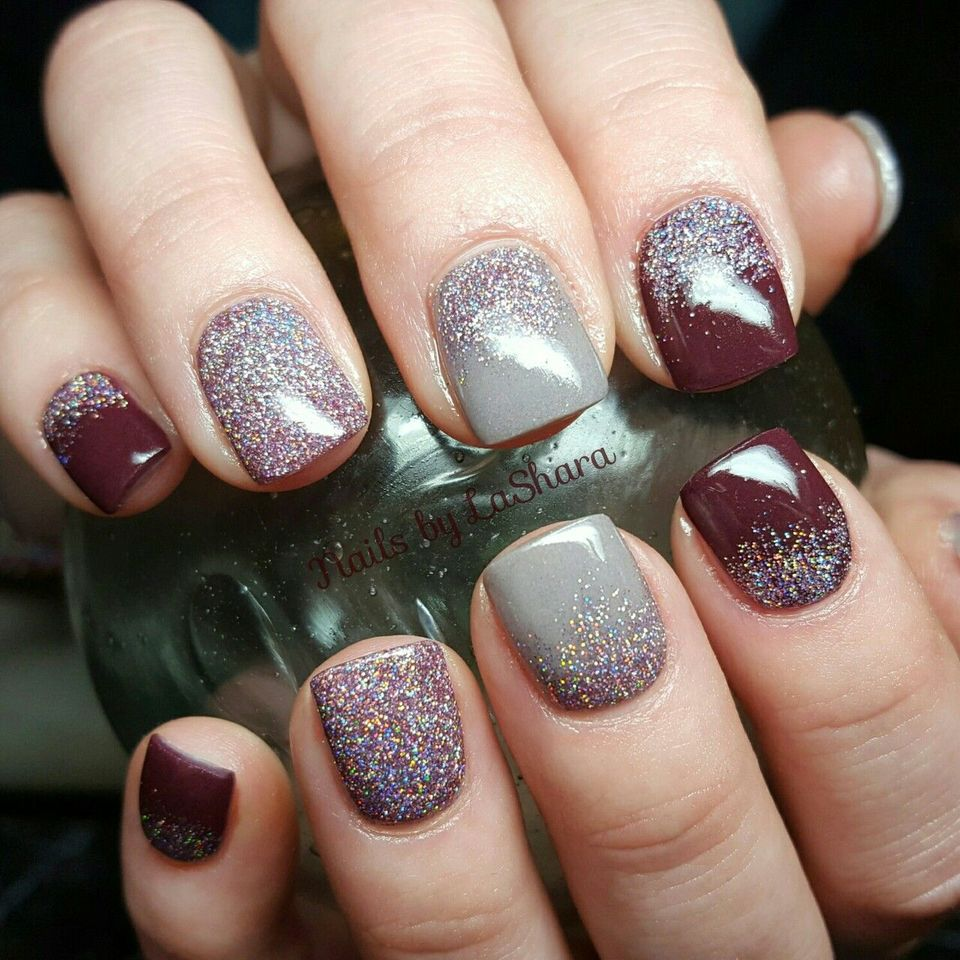 Sweet Acrylic Nails Ideas For Winter 77 Fashion Best