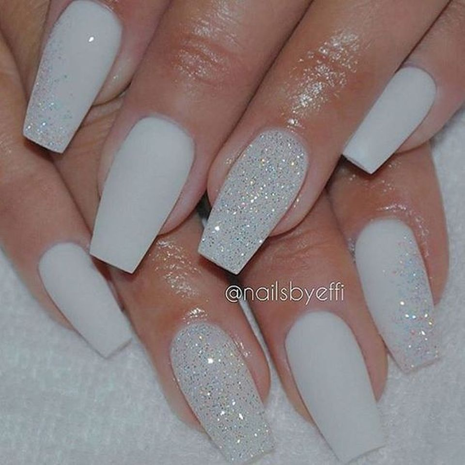 Sweet acrylic nails ideas for winter 8 - Fashion Best