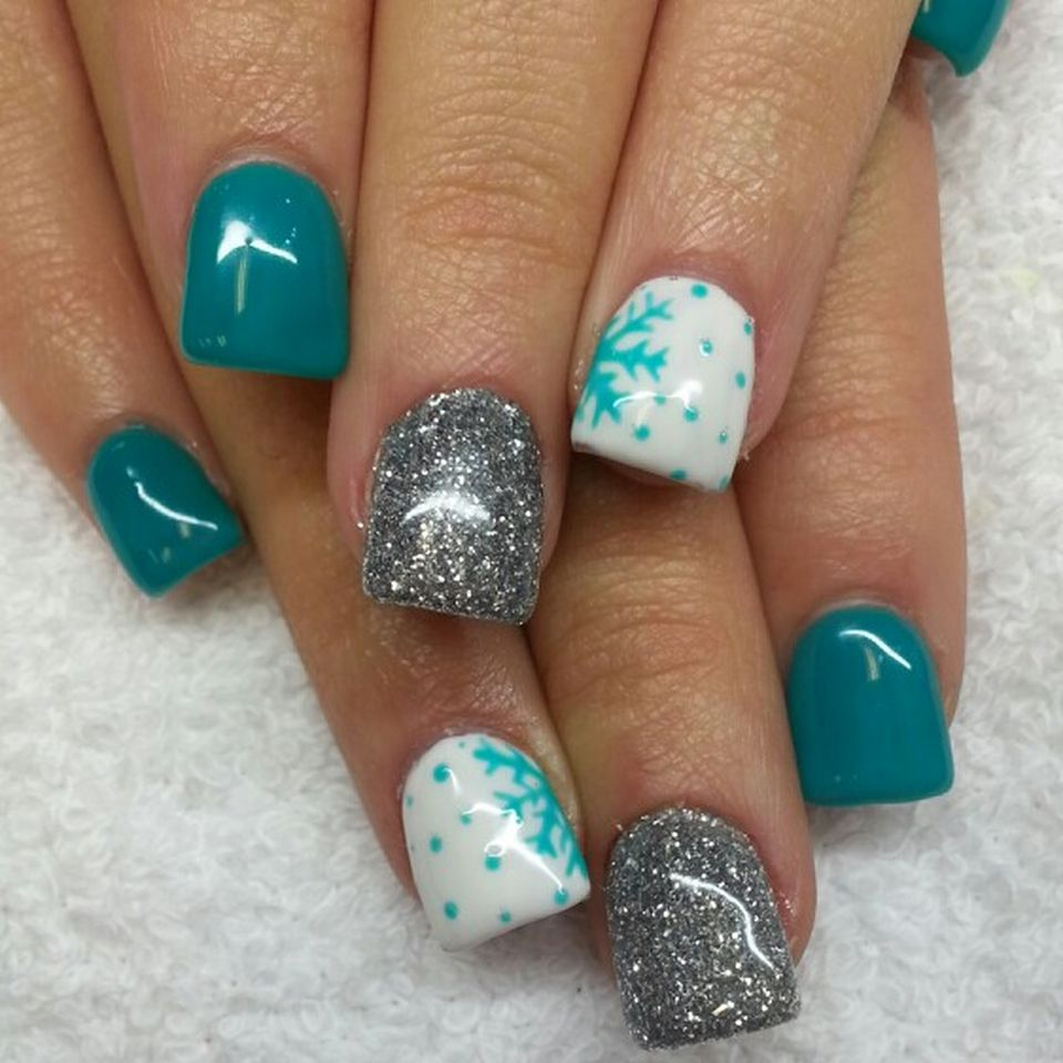 Sweet acrylic nails ideas for winter 84 - Fashion Best