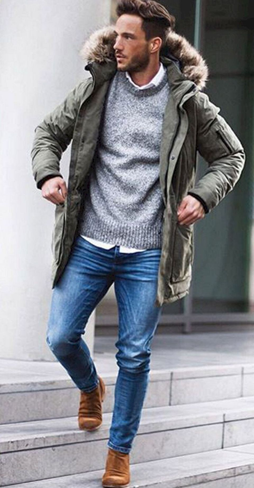 Cool, Classy and Fashionable Men Winter Coat 30 - Fashion Best