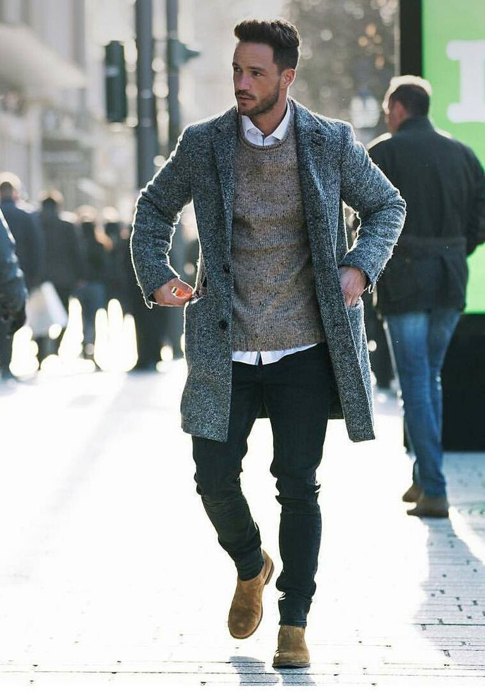 Cool, Classy and Fashionable Men Winter Coat 68 - Fashion Best