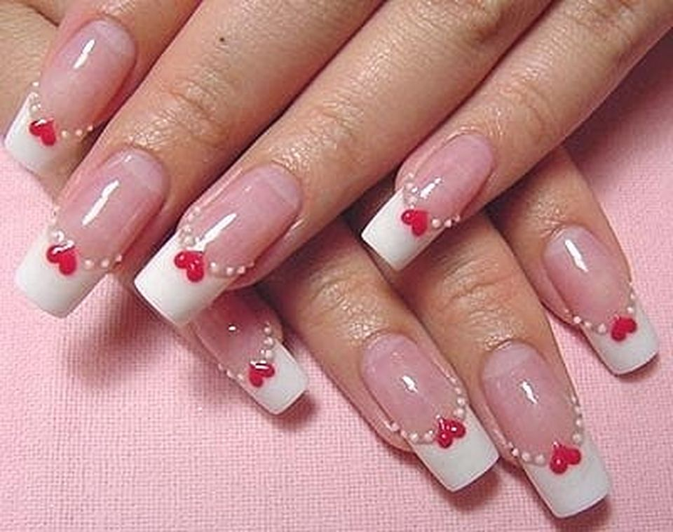 Lovely valentine nails design ideas 13 - Lovely Valentine Nails Design Ideas 13 - Fashion Best