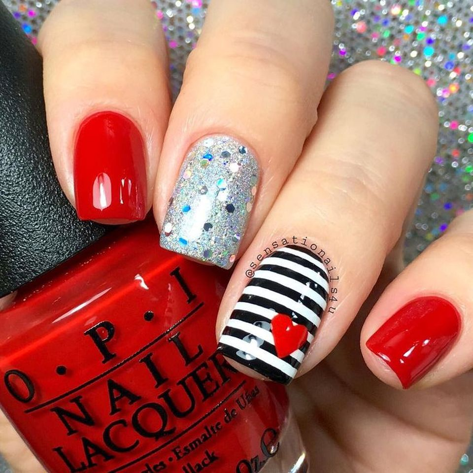 Lovely Valentine Nails Design Ideas 17 Fashion Best
