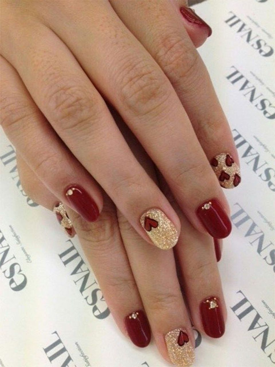 Lovely Valentine Nails Design Ideas 58 Fashion Best