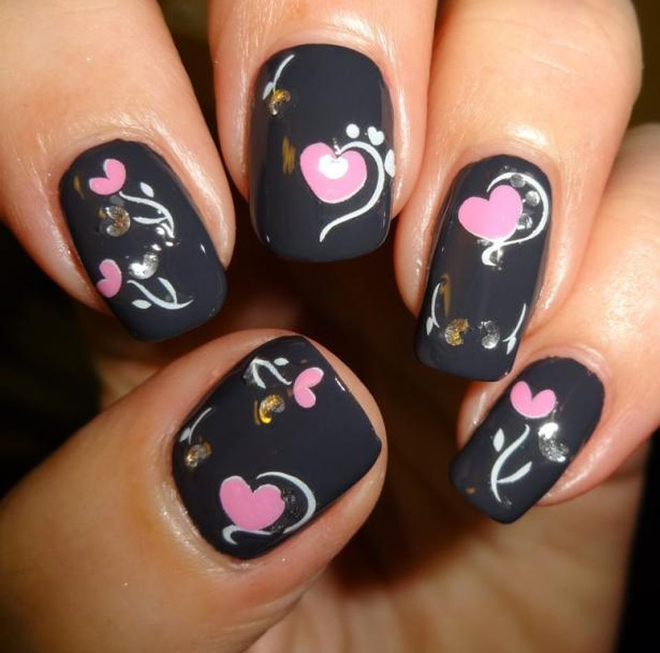 Lovely Valentine Nails Design Ideas 59 Fashion Best