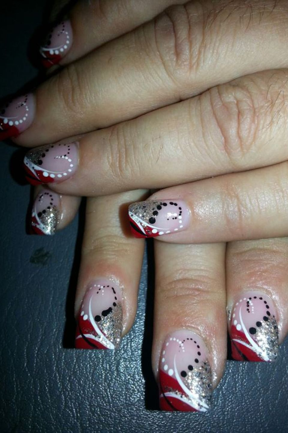 Lovely valentine nails design ideas 65 - Fashion Best
