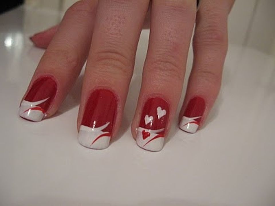 Lovely valentine nails design ideas 70 - Fashion Best