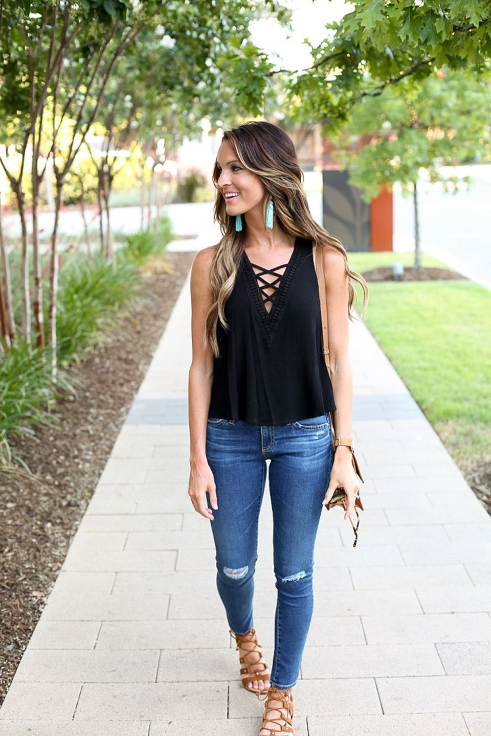 Pretty Casual Spring Fashion Outfits For Teen Girls 15
