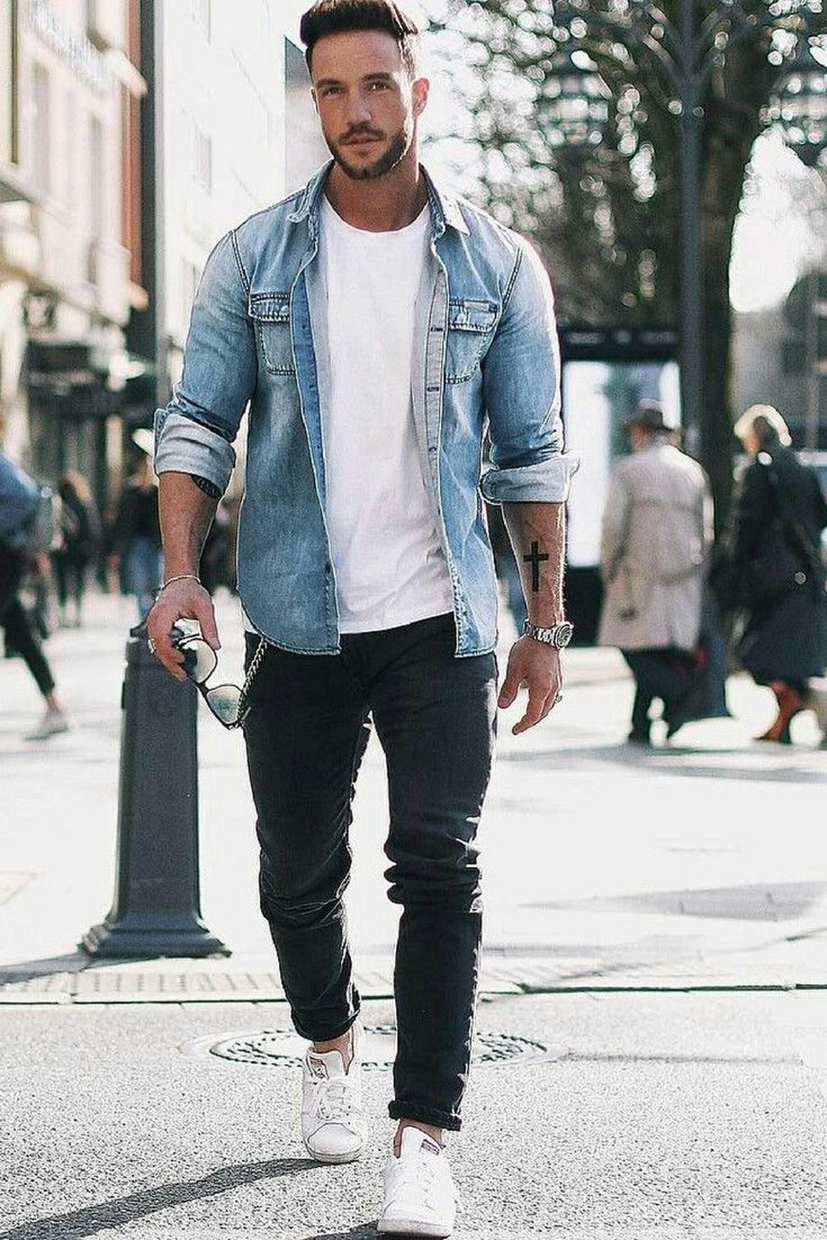 Cool Casual Men\u0027s Fashions Summer Outfits Ideas 37