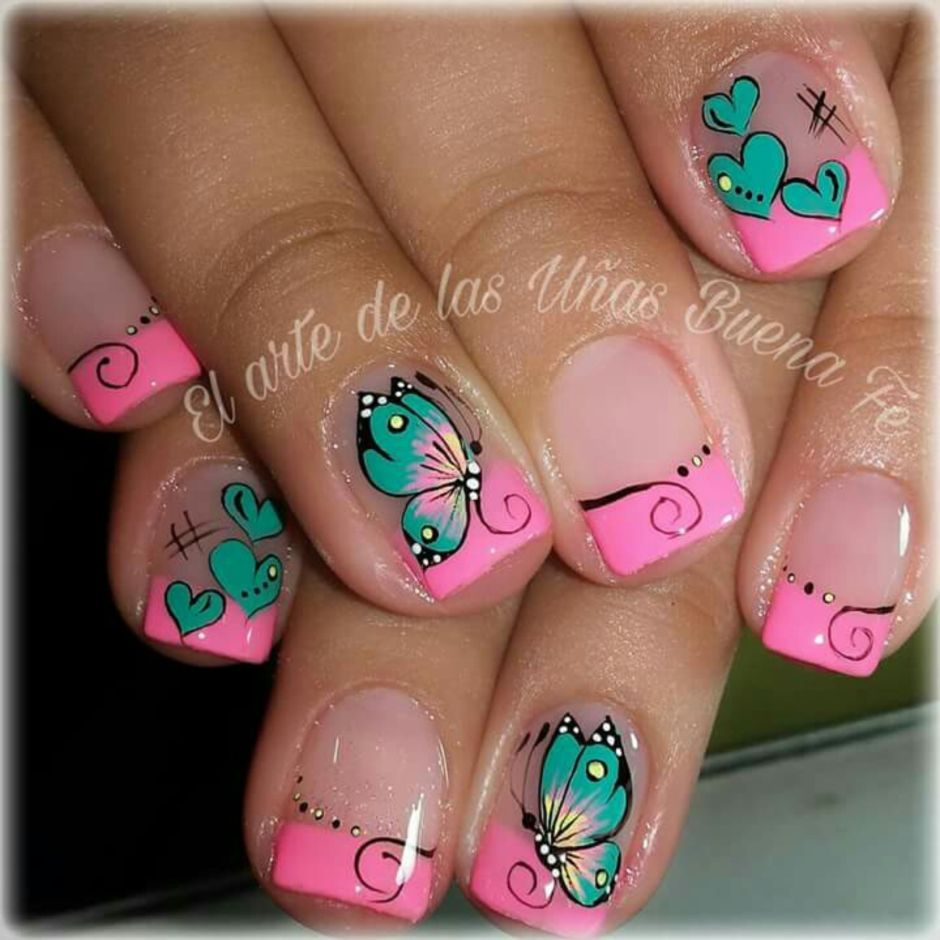 Best Colorful and Stylish Summer Nails Ideas 21 - Fashion Best