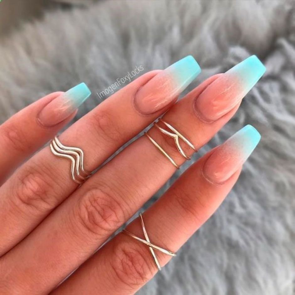Best Colorful and Stylish Summer Nails Ideas 37 - Fashion Best
