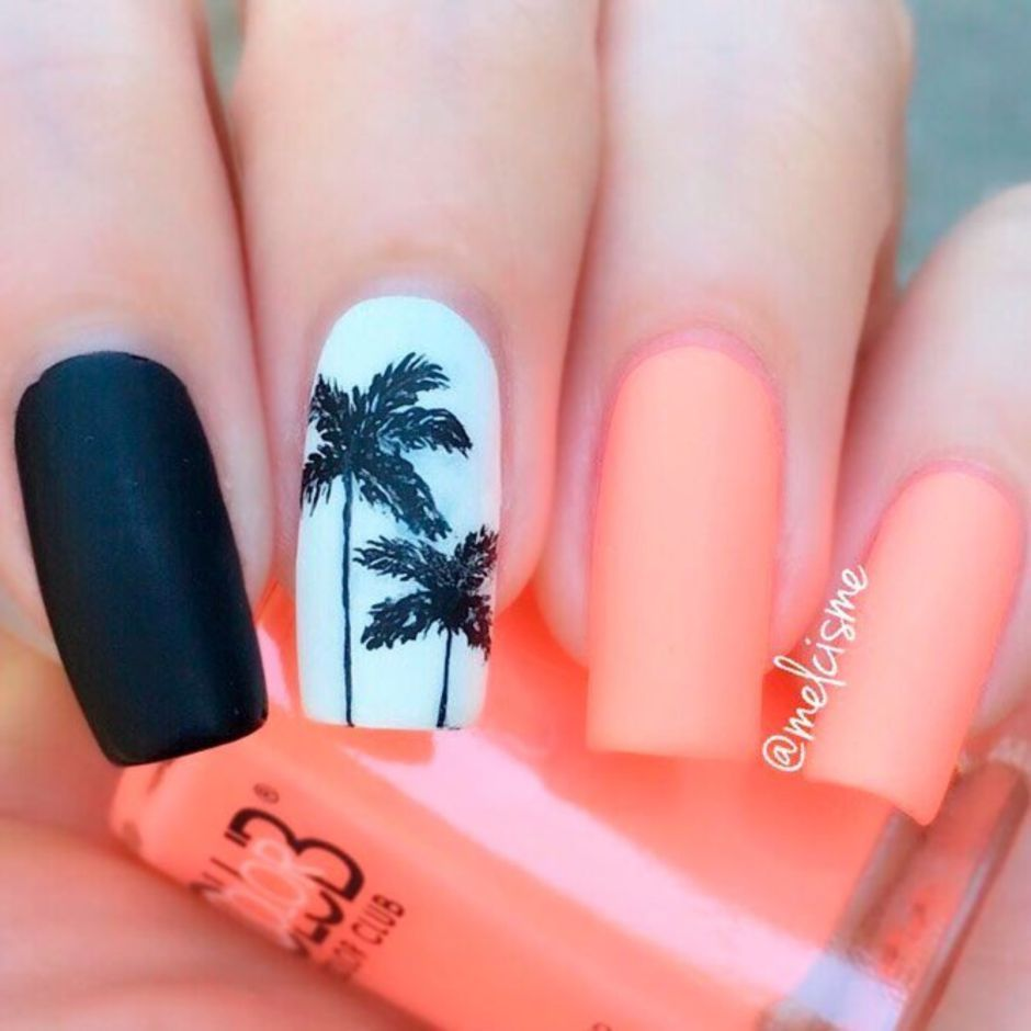 Best Colorful and Stylish Summer Nails Ideas 45 - Fashion Best