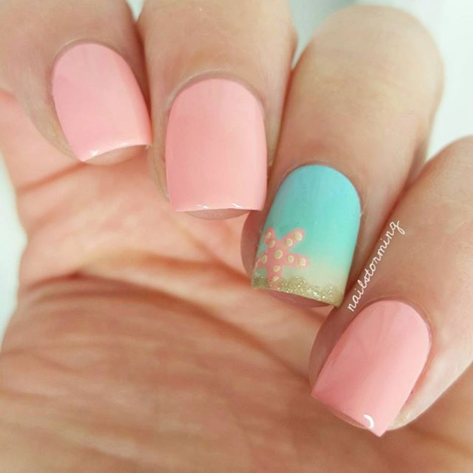 Best Colorful and Stylish Summer Nails Ideas 57 - Fashion Best