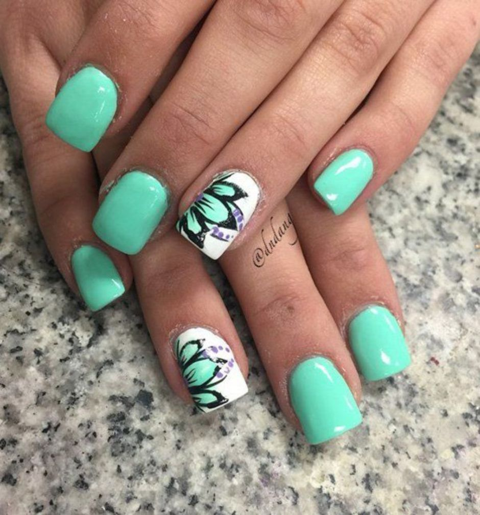Best Colorful and Stylish Summer Nails Ideas 62 - Fashion Best