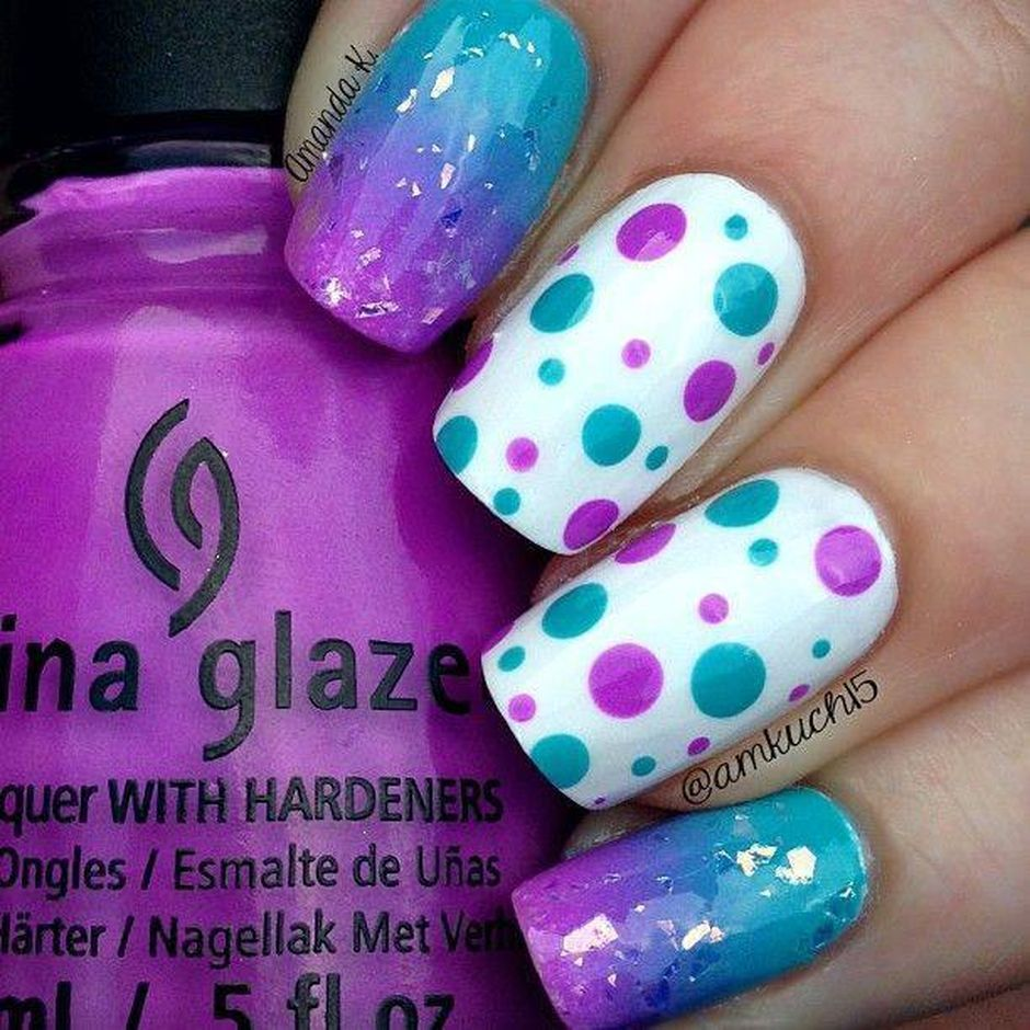 Cute and Easy Easter Nail Art Design Ideas 17 - Fashion Best