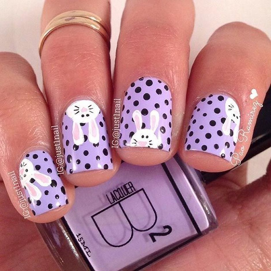 Cute and Easy Easter Nail Art Design Ideas 20 - Cute And Easy Easter Nail Art Design Ideas 20 - Fashion Best