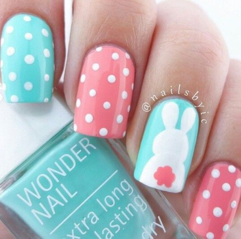 Cute and Easy Easter Nail Art Design Ideas 30 - Cute And Easy Easter Nail Art Design Ideas 30 - Fashion Best