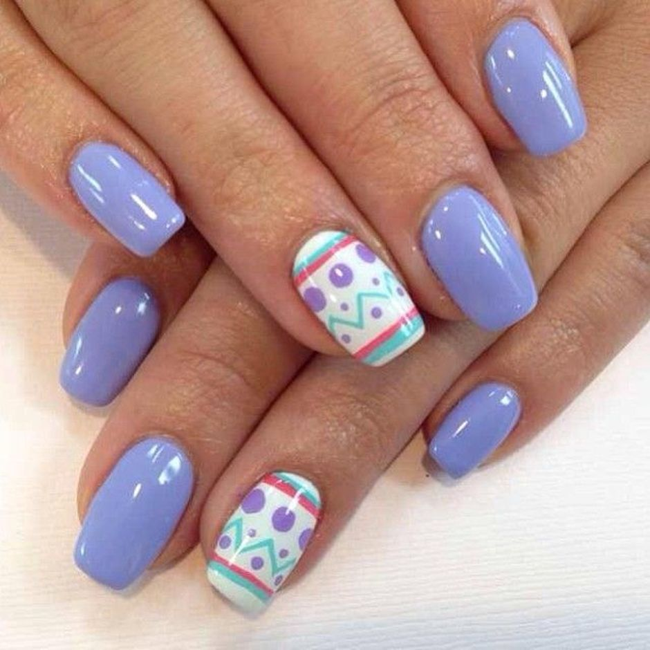 Cute and Easy Easter Nail Art Design Ideas 42 - Cute And Easy Easter Nail Art Design Ideas 42 - Fashion Best