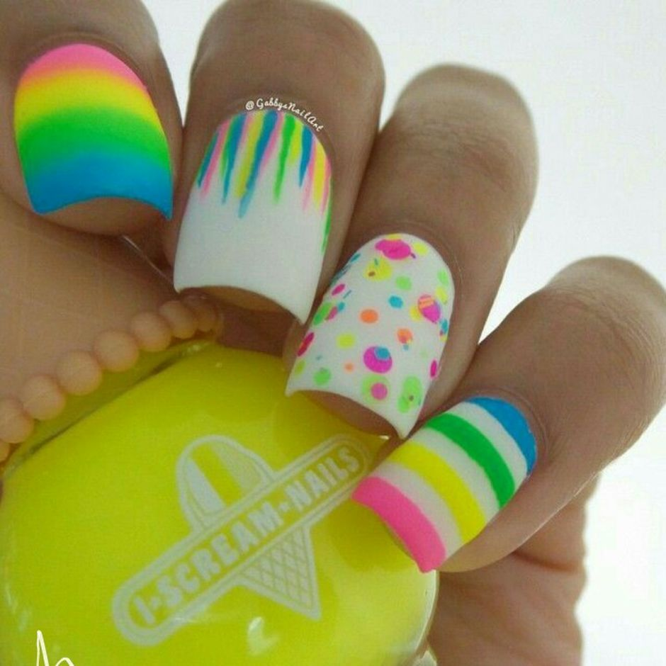 Easy Easter Nail Art: Cute And Easy Easter Nail Art Design Ideas 47