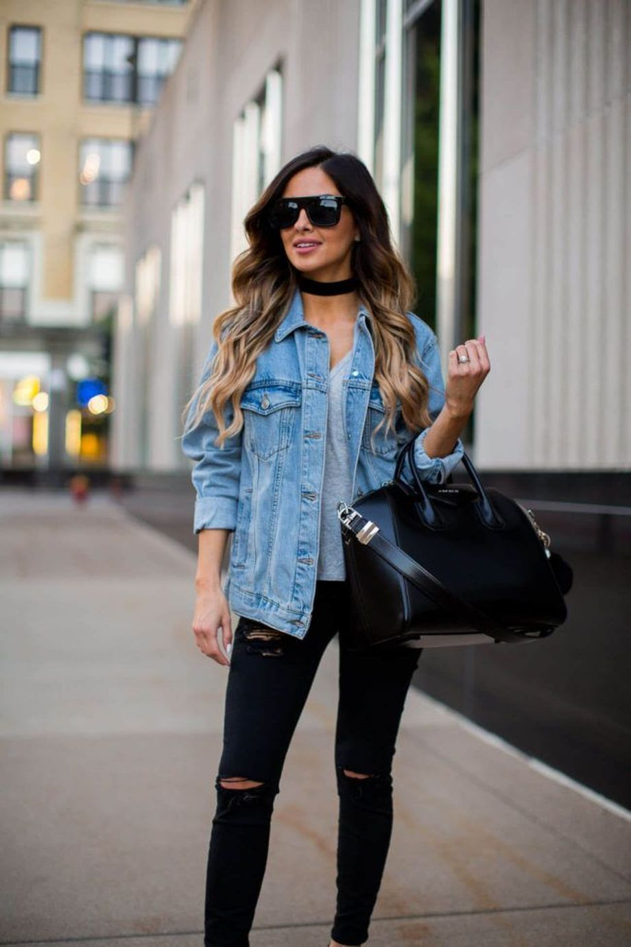 denim jacket outfits inspirations for girl 1  fashion best