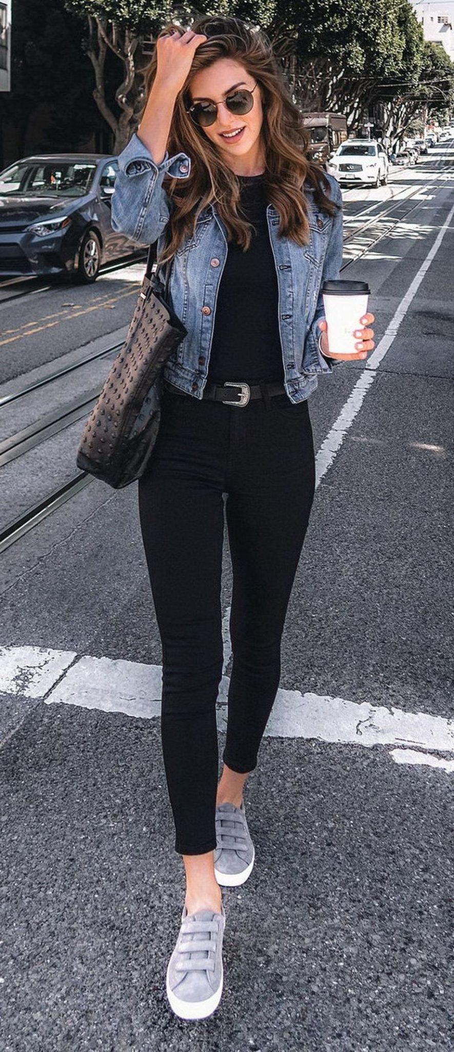 Denim Jacket Outfits Inspirations For Girl 23 Fashion Best