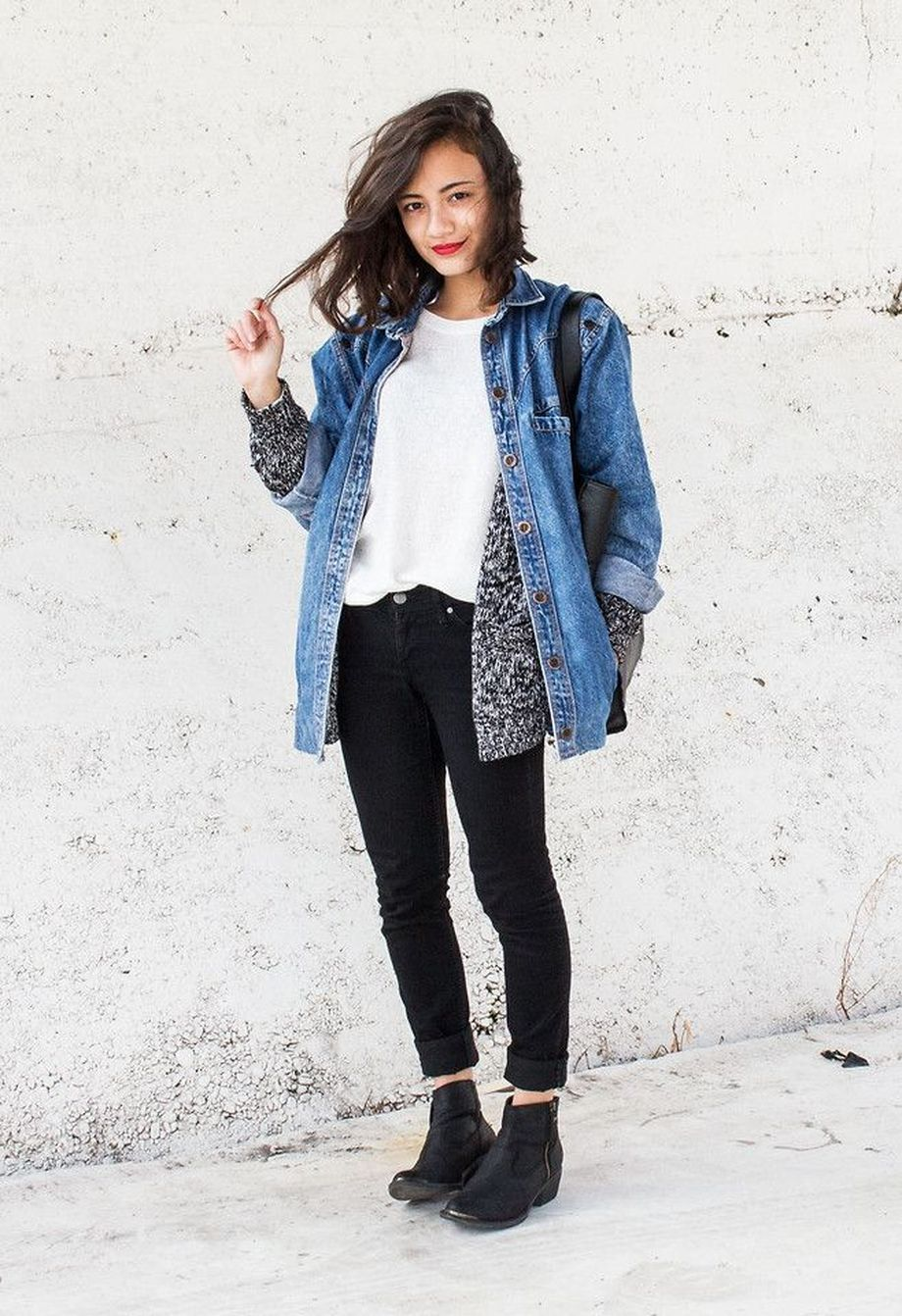 Denim Jacket Outfits Inspirations For Girl 25 Fashion Best
