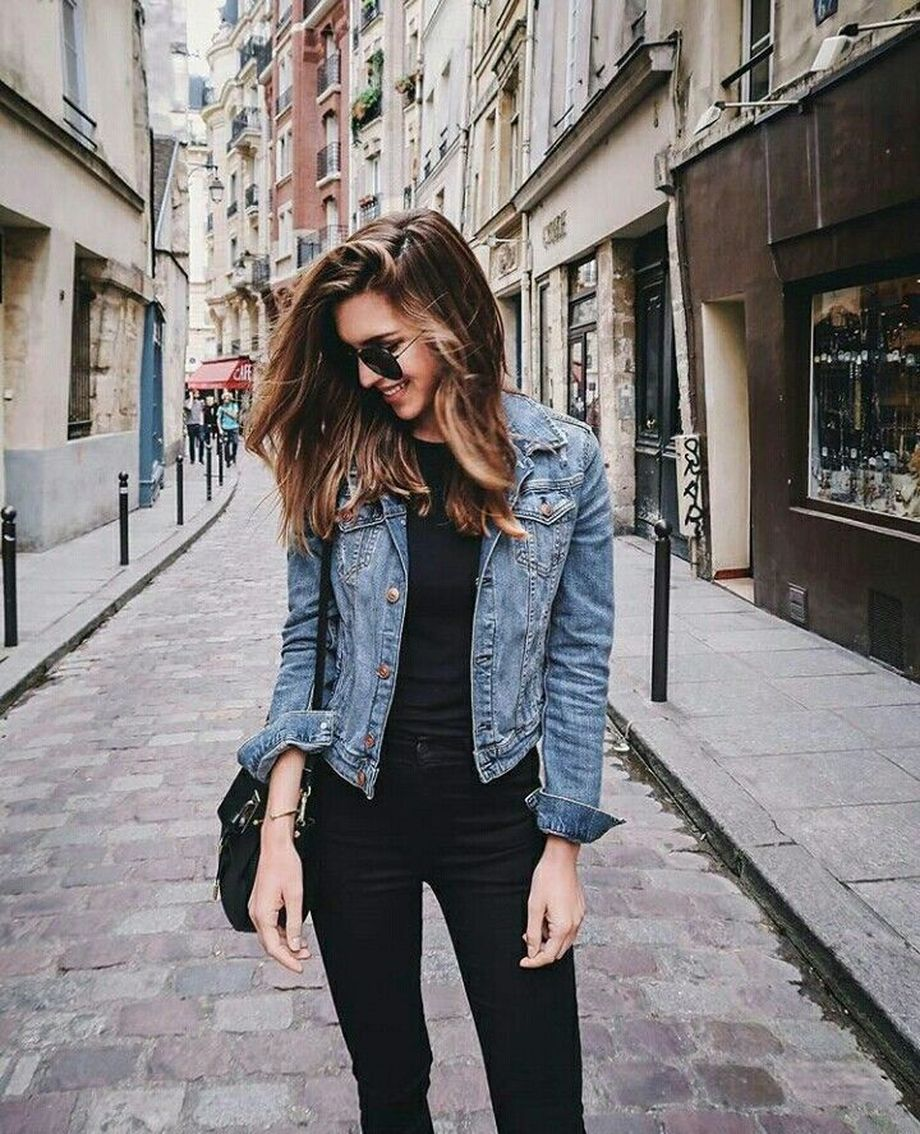 Denim Jacket Outfits Inspirations For Girl 4 Fashion Best