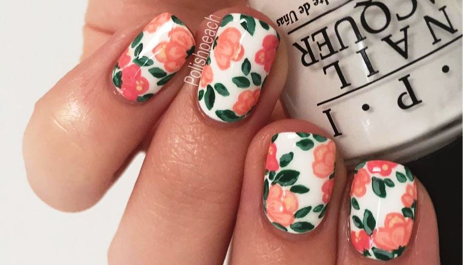 30 Best Inspirations Floral Nail Art Design - Fashion Best