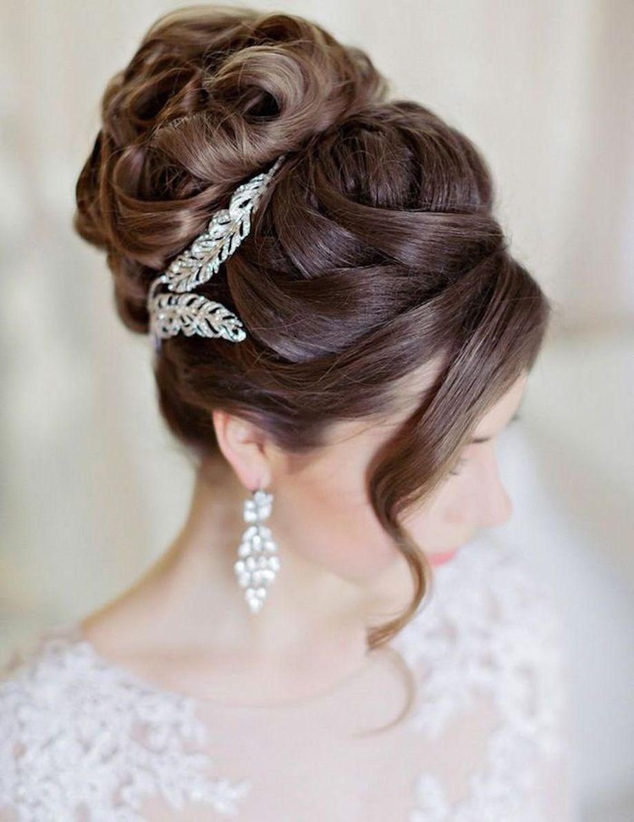 Simpe But Classy Bridal Hair Do 10 Fashion Best