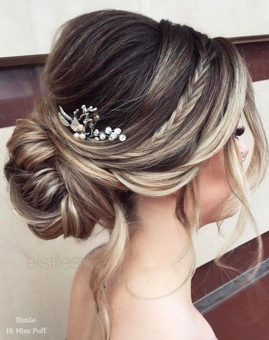 Simpe But Classy Bridal Hair Do 26 Fashion Best